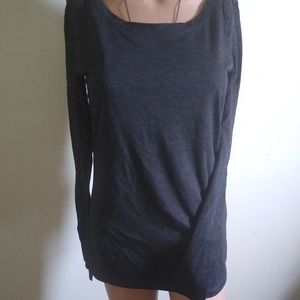 Off-Black Long Sleeve T-shirt